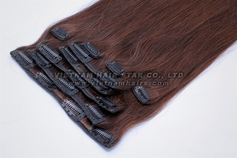 Full-head Set Clip-in Hair Extensions